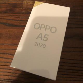 ラクテン(Rakuten)の[新品未開封] OPPO A5 2020 オッポ A5 グリーン(スマートフォン本体)