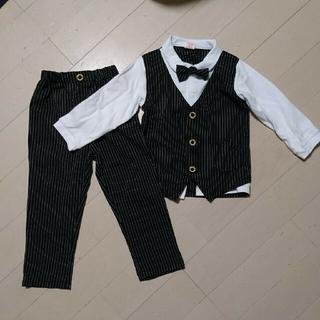 男児フォーマル2点セット サイズ120 スーツ