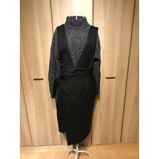 ヨウジヤマモト(Yohji Yamamoto)のUjhoのキャミサロペットスカート(ロングスカート)