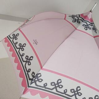 LADUREE - ラデュレ ピンクのパゴダ傘  LADUREE 雨傘 長傘 長傘
