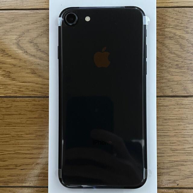 Apple(アップル)のほぼ新品 iPhone8 スペースグレイ 64GB バッテリー100% スマホ/家電/カメラのスマートフォン/携帯電話(スマートフォン本体)の商品写真