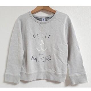プチバトー(PETIT BATEAU)のプチバトー トレーナー 5ans/108cm(Tシャツ/カットソー)