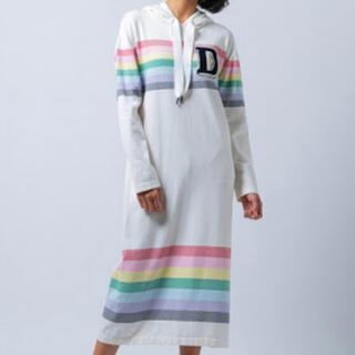 ダブルスタンダードクロージング(DOUBLE STANDARD CLOTHING)のダブルスタンダードクロージング ワンピース ストレッチニット新品❗️(ひざ丈ワンピース)