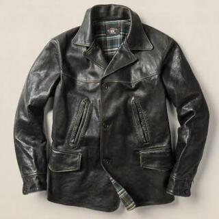 ダブルアールエル(RRL)のRRL Henderson Coat(レザージャケット)