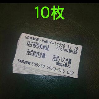 サイタマセイブライオンズ(埼玉西武ライオンズ)の西武 株主優待乗車券(鉄道乗車券)
