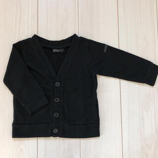 フタフタ(futafuta)の新品☆ futafuta 95cm 黒いカーディガン(カーディガン)
