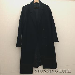 スタニングルアー(STUNNING LURE)のSTUNNING LURE   スタニングルアー コート Black(ロングコート)