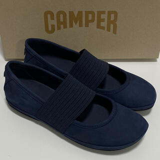 カンペール(CAMPER)の新品 Camper Right Nina カンペール バレエシューズ ブルー(バレエシューズ)