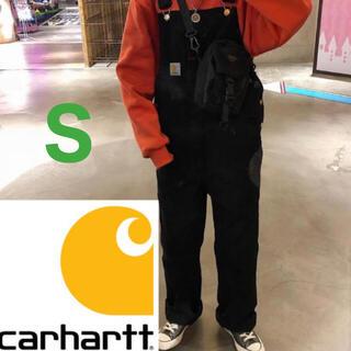 carhartt - Carhartt オーバーオール ブラック Sサイズ