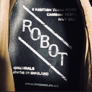 GEORGE COX - 80's ROBOT of Kings Road  Lineman Shoes