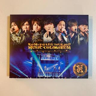 キスマイフットツー(Kis-My-Ft2)のKis-My-Ft2 MUSIC COLOSSEUM 初回限定 Blu-ray(アイドル)