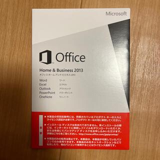 マイクロソフト(Microsoft)のOffice Home&Business2013 (その他)