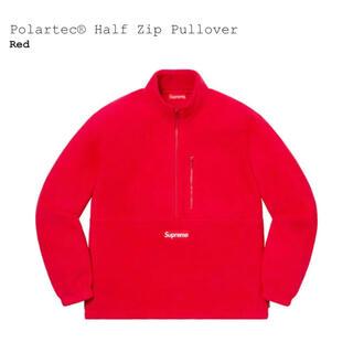 シュプリーム(Supreme)のsupreme polartec half zip pullover レアカラー(スウェット)