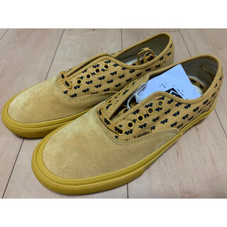 ダブルタップス(W)taps)のwtaps vans AUTHENTIC YELLOW VNOOOEFPGWE(スニーカー)