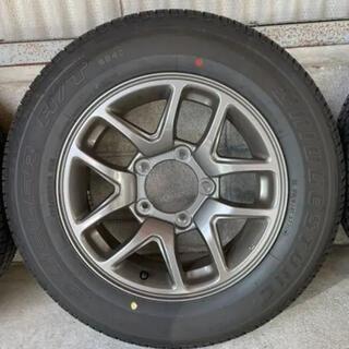 スズキ(スズキ)の新型スズキジムニーJB64純正アルミホイール&タイヤセット(タイヤ・ホイールセット)