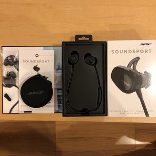 ボーズ(BOSE)のBOSE SoundSport Wireless【ジャンク品】(ヘッドフォン/イヤフォン)