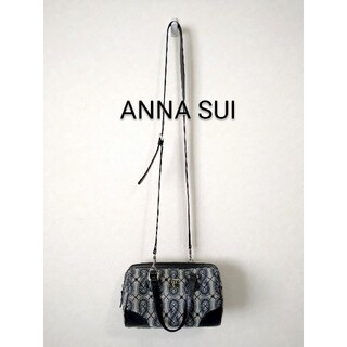 ANNA SUI - 【ANNA SUI】ボストンショルダーバッグ