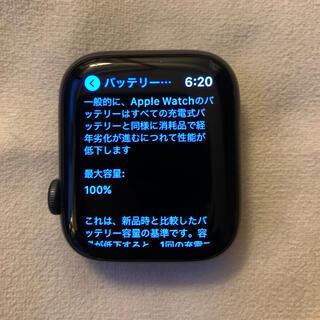Apple - APPLE WATCH series5 44mm 本体 アルミ GPSモデル