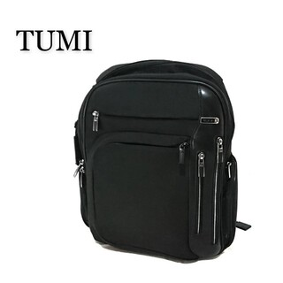 トゥミ(TUMI)のTUMI トゥミ ARRIVE アリーヴェ リュック ブラック(バッグパック/リュック)