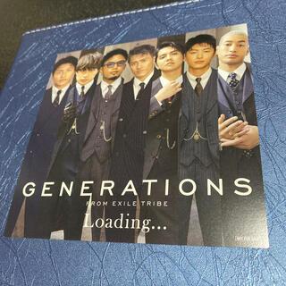 GENERATIONS - GENERATIONS Loading… ジャケットカード