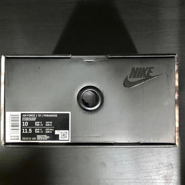 NIKE(ナイキ)のナイキ nike paranoise パラノイズ エアフォース1 28cm メンズの靴/シューズ(スニーカー)の商品写真