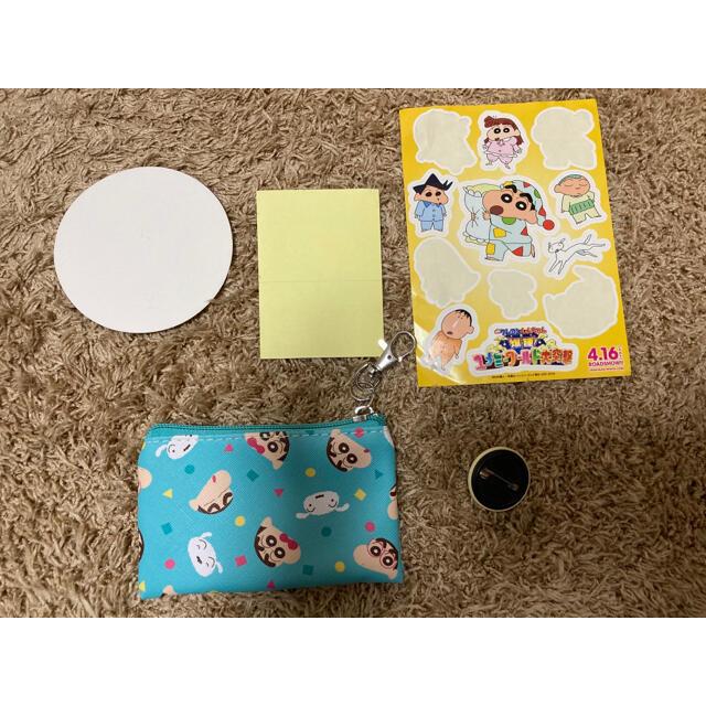 クレヨンしんちゃん ステッカー コースタ シール 缶バッジ エンタメ/ホビーのおもちゃ/ぬいぐるみ(キャラクターグッズ)の商品写真