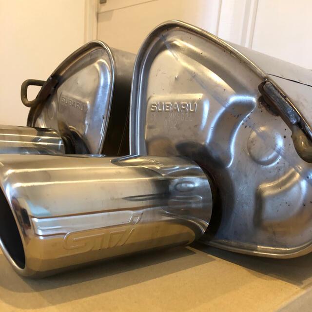 スバル(スバル)のLEVORG STI レヴォーグ純正マフラー 自動車/バイクの自動車(車種別パーツ)の商品写真