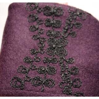 アナスイ(ANNA SUI)のアナスイ ロンググローブ 日本製 赤紫(手袋)