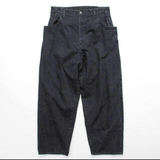COMOLI - stein シュタイン EX WIDE HOOKED DENIM JEANS