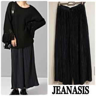 JEANASIS - ジーナシス 美品 プリーツ ワイドパンツ