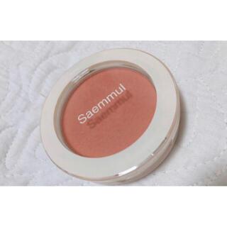 the saem - the SAEM オレンジチーク❤︎