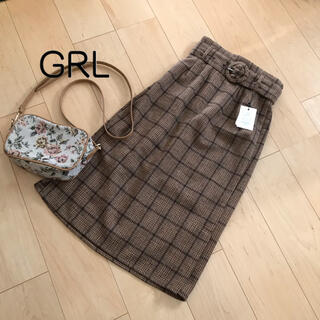 GRL - SALE❗️新品未使用✨GRL チェックストレートスカート