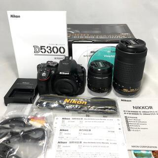 Nikon - Nikon  D5300 AF-P ダブルズームKIT 1842ショット