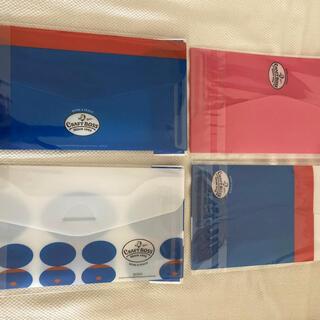 ロゴス(LOGOS)のマスクケース4個セット非売品ノベルティー品未開封即日発送‼️(ノベルティグッズ)