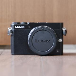 Panasonic - 【美品】LUMIX GM5 ブラック ボディ DMC-GM5