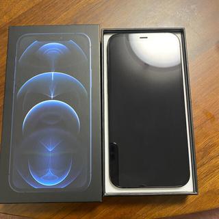 iPhone - iPhone 12 pro パシフィックブルー 128 SIMフリー おまけ付き