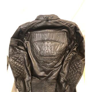 ハーレーダビッドソン(Harley Davidson)のHARLEY-DAVIDSON ハーレーダビットソン レザージャケット(ライダースジャケット)