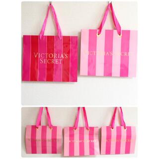 ヴィクトリアズシークレット(Victoria's Secret)のvictoria's secret♡*+°ショップ袋 5枚SET(ショップ袋)