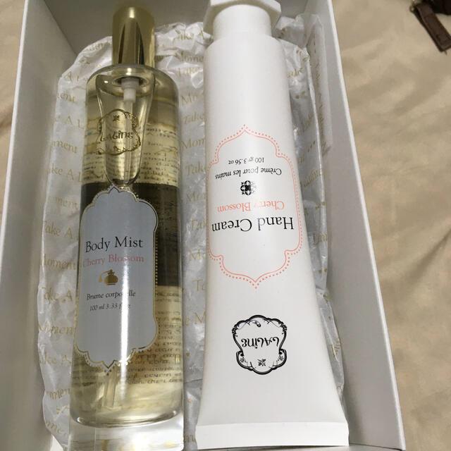 Laline(ラリン)のラリン ボディミストand ハンドクリーム コスメ/美容のボディケア(ボディローション/ミルク)の商品写真