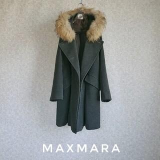 Max Mara - 希少 超高級  マックスマーラ 憧れのビッグリアルファーコート ウィークエンド