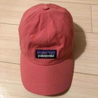 patagonia - 美品 patagonia 6パネル キャップ ピンク