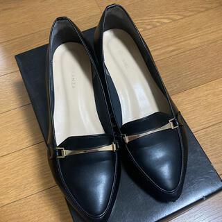 エスペランサ(ESPERANZA)のエスペランサ ローファー ブラック(ローファー/革靴)