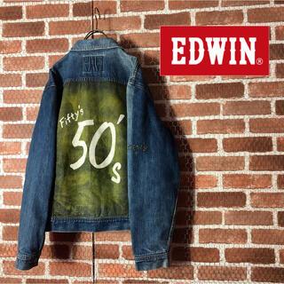 エドウィン(EDWIN)の【激レア・入手困難】EDWIN エドウィン 50s fifty's Gジャン(Gジャン/デニムジャケット)