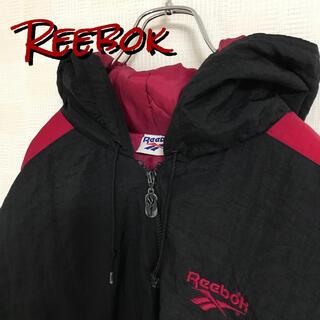 リーボック(Reebok)の90s 旧タグ Reebok リーボック ナイロンジャケット ベクター刺繍(ナイロンジャケット)