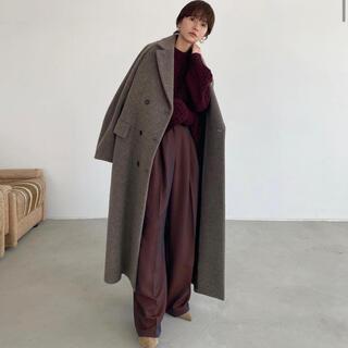 STUDIOUS - CLANE DOUBLE WOOL LONG COAT