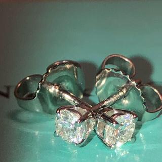 Tiffany & Co. - ティファニー ダイヤモンド ソリティア ピアス