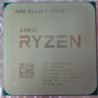 Ryzen9 3900X 3.8GHz Socket AM4 中古品