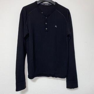 バーバリーブラックレーベル(BURBERRY BLACK LABEL)のBurberry Black label 薄手ニットセーター(ニット/セーター)