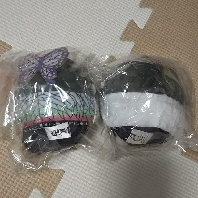 BANDAI(バンダイ)の【鬼滅の刃】ふわころりん  しのぶ  カナヲセット エンタメ/ホビーのおもちゃ/ぬいぐるみ(キャラクターグッズ)の商品写真