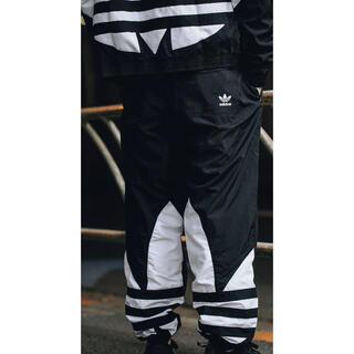 adidas - adidas☆ビッグ トレフォイル トラックパンツ ナイロンパンツ S